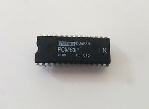 Burr-Brown PCM63P-K 20-bit R/2R monolithic DAC chip DIP-28