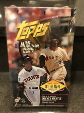 1997 Topps Series 1 Baseball Factory Sealed Wax Box 36 Packs