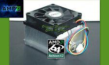 Athlon 64 X2 Heatsink Cooler Fan for 3000 4000 5000 Series Skt 939, 940 AM2 New