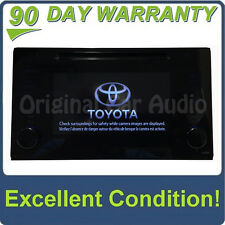 Toyota Radio CD Player Display Screen P10693 OEM Stereo Monitor Factory Receiver