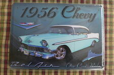 Bel Air Chevy 56' Metal Sign Painted Poster Garage Hobby Collect Wall Decor Art