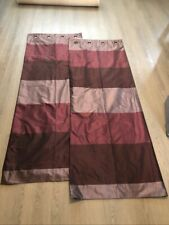 purple stripe curtains by next