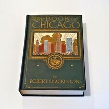 The Book of Chicago by Robert Shackleton (1920, Hardcover)
