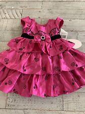 Jona Michelle Girl's Fuchsia Pink Purple Party Holiday Dress New