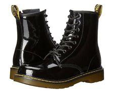Dr. Martens Black Unisex Kids' Shoes