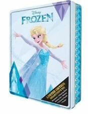 NEW Disney Frozen Kids Limited Edition Collector's Tin Activity Book & Gift Set!