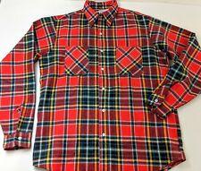 Big Mac Flannel Vintage Shirt Nos 16-16.5 Tall Jc Penney New Work Wear 60's 50's