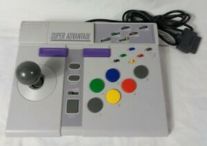 🕹️ ASCIIWARE Super Advantage SNES Arcade Joy Stick Controller ⚡ Tested & Works
