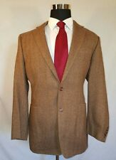 Ralph Lauren Mens Herringbone Wool Blazer Suit Coat 43L