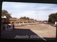 1972 kodachrome photo slide  Railroad train  Union Pacific   RR72
