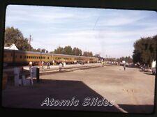 1972 kodachrome photo slide  Railroad train  Union Pacific   RR72