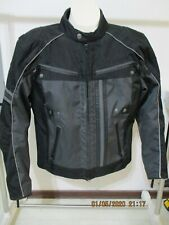 Harley Davidson Men's Medium Riding Gear Biker Motorcycle Protective Jacket Coat