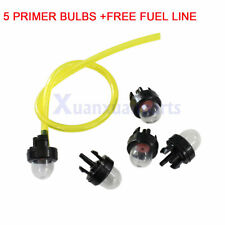 5 Primer Bulb Pump Bubble For Husqvarna 455 Rancher 460 445 450 435 chainsaw