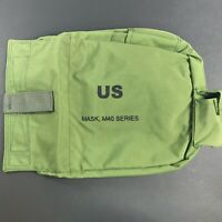 NEW M-40 Series Gas Mask Bag Only - Green - No Mask