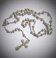 rosario vintage - argento 800 - Italy - rf