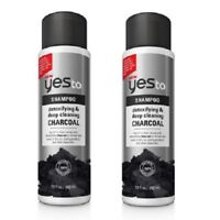 Yes To Detoxifying and Deep Cleaning Charcoal Shampoo, 12 Oz (Pack of 2)