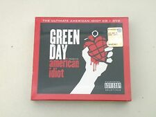 GREEN DAY - THE ULTIMATE AMERICAN IDIOT - CD + DVD FREE ZONE 2015 - NUOVO/NEW