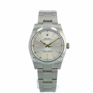 Rolex Oyster Perpetual 34mm 124200 Silver Dial Stainless Steel Box Papers 2021