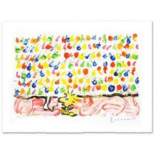 """Everhart """"Tweet Tweet"""" Signed Limited Edition Peanuts Lithograph; COA"""