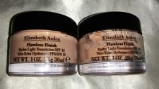 ELIZABETH ARDEN FLAWLESS FINISH HYDRO LIGHT FOUNDATION 1.0 OZ BUFF 26 LOT OF 2