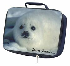 Snow Seal 'Yours Forever' Navy Insulated School Lunch Box Bag, AF-S14LBN