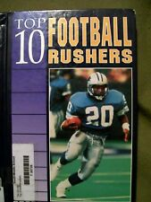 Sports Top 10: Top 10 Football Rushers by William W. Lace (1994, Hardcover)