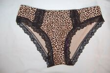 M&s Brazilian Briefs Animal Print Black Mix Size UK 14 EUR 42