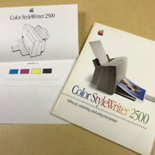 Color StyleWriter 2500 Reference Manual **very good cond.** 1996 Apple Computer