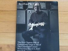 Eric Clapton Bonham Guitar Amp Auction Book Catalog
