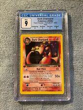 Dark Charizard Pokemon Team Rocket 1st Edition Holo #4 CGC 9 MINT 🔥 (PSA BGS)