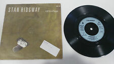 "STAN RIDGWAY CAMOUFLAGE 1986 IRS RECORDS SINGLE 7"" VINYL UK EDITION RARE!"