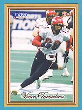 2001 JOGO CFL Canadian Football Series #3 Set (18 Cards)