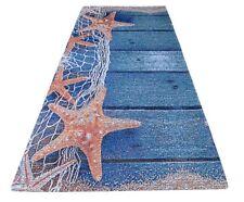 Tappeto stella marina 120 x 170 in ciniglia con antiscivolo