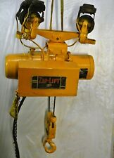P Amp H Zip Lift 2000 Lbs Cable Hoist W Cornering Trolley 1hp 220440v 3ph