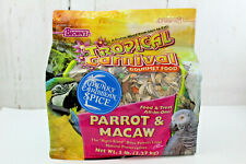 Parrot and Macaw gourmet Bird Food F.M. Browns Tropical Carnival 5 lb Sealed New