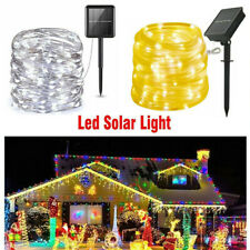 200LED Solar String Lights Waterproof Garden 10/20M Copper Wire Outdoor Xmas