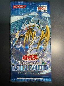 YuGiOh Tactical Evolution SEALED Booster Pack Japanese TAEV-JP Rainbow Dragon