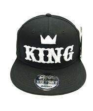 NEW KING SNAPBACK CAP BASEBALL HIP HOP ERA FITTED FLAT PEAK HAT
