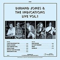 DURAND JONES AND THE INDICATIONS - LIVE: VOL. 1 - NEW BLUE VINYL LP