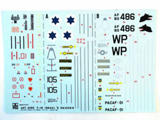 Esci 4065 Vintage Decals F-16A Fighting Falcon 1:48 modeling