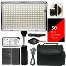 288pcs Video Dimmable Light Panel with Color Temp Control for YouTube or Studio
