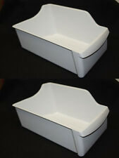 2 Genuine Frigidaire Sears Kenmore Westinghouse Ice Container Bucket 240385201