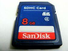 2GB SD / 4GB SDHC / 8GB SDHC ( 2 GB SD / 4 GB /  8 GB SDHC ) SanDisk gebraucht