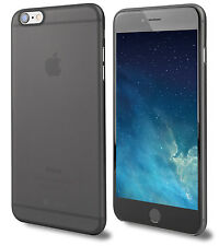 Ultra Thin Slim Hard 0.3mm Cover Case Skin Case for iPhone 6 Plus 6s Plus Black
