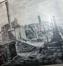 Catalogo Arte Pittura - Camerata Artisti Impressioni di Roma Luigi Tarra 1932