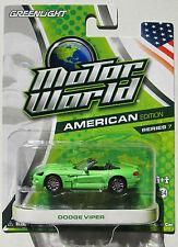 GREENLIGHT MOTOR WORLD SERIES 7 2003 DODGE VIPER rr