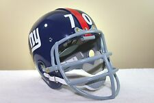 SAM HUFF #70 Style CUSTOM NEW YORK GIANTS Suspension Vintage Football Helmet NEW