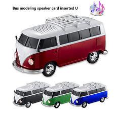 Bid Colorful Speaker Car Shape Bus Speaker MP3 Speaker + U disk + FM function