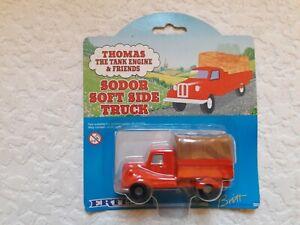 ERTL Thomas the Tank Engine Sodor Soft Side Truck  Die Cast
