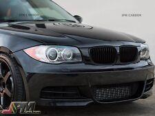 2008-2011 BMW E82 E88 128i 135i 2Dr Front Kidney Grille - Original Matte Black